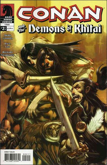 Conan and the Demons of Khitai 2-A by Dark Horse