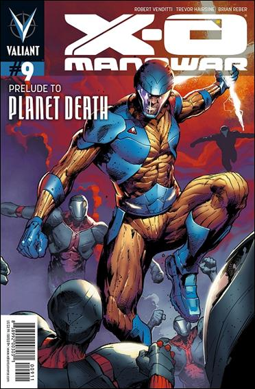X-O Manowar (2012)  9-A by Valiant Entertainment
