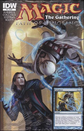 Magic: The Gathering - Path of Vengeance 1-A by IDW
