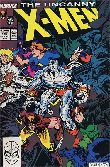 Uncanny X-Men (1981) 235-A by Marvel