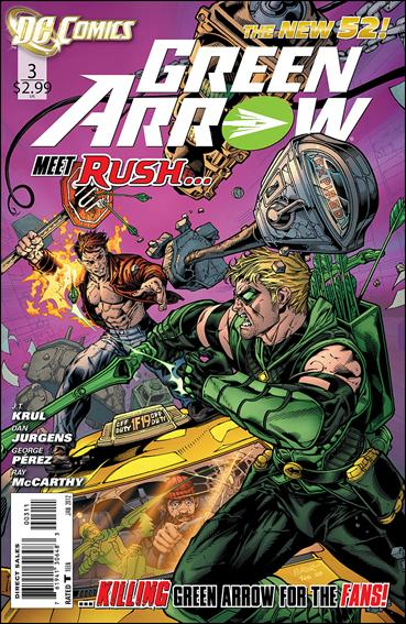 Green Arrow (2011) 3-A by DC