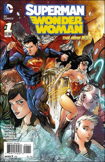 Superman/Wonder Woman 1-A by DC