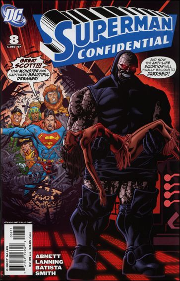 Superman Confidential 8-A by DC