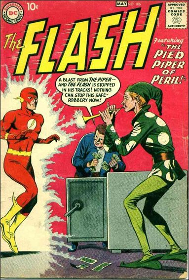 Flash (1959) 106-A by DC