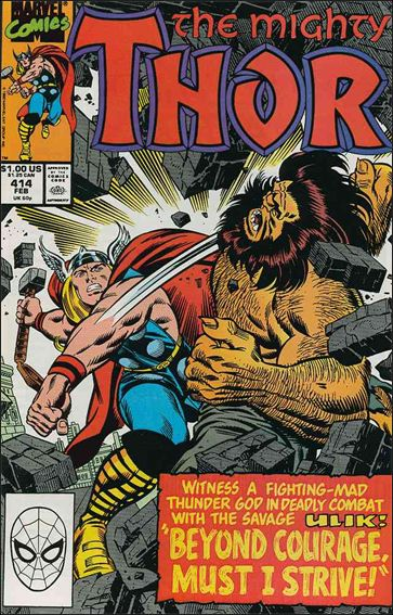 Thor (1966) 414-A by Marvel