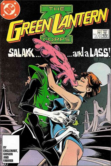 Green Lantern Corps (1986) 215-A by DC
