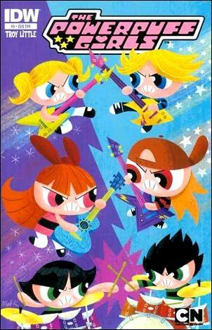 Powerpuff Girls (2013) 9-B by IDW