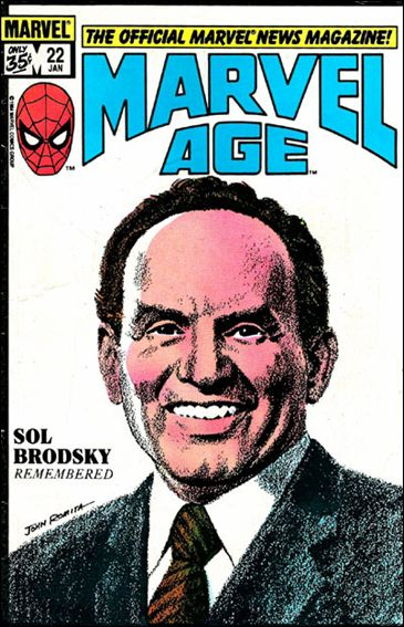 Marvel Age 22-A by Marvel