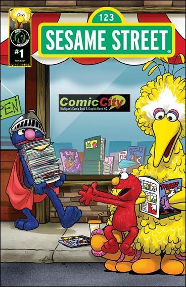 Sesame Street 1-F by Kizoic