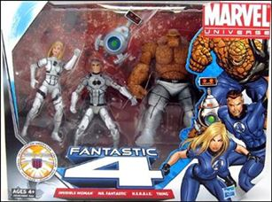 Marvel Universe (3-Packs) Future Foundation 3-Pack with H.E.R.B.I.E.