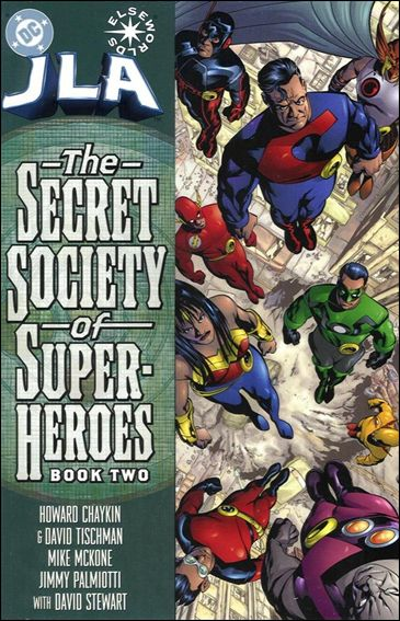JLA: Secret Society of Super-Heroes 2-A by DC