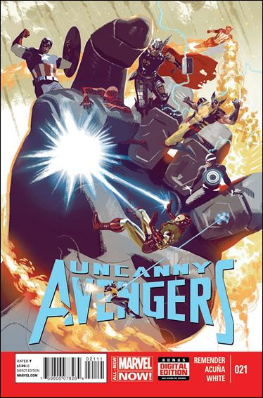 Uncanny Avengers (2012) 21-A by Marvel