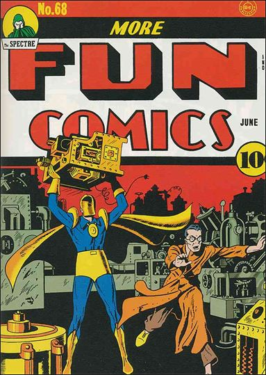 More Fun Comics 68-A by DC