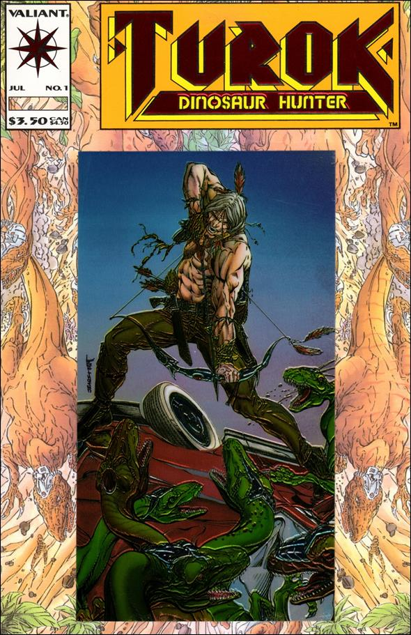 Turok: Dinosaur Hunter (1993) 1-A by Valiant