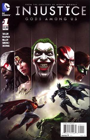 Injustice: Gods Among Us 1-A by DC