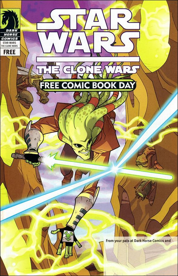 Free Comic Book Day and Star Wars: The Clone Wars - Gauntlet of Death nn-A by Dark Horse