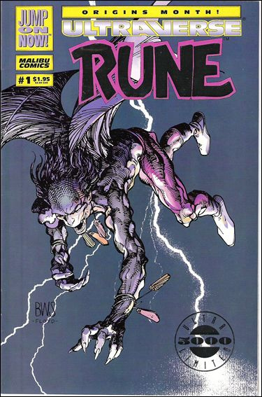 Rune (1994) 1-B by Malibu