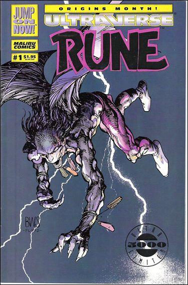 Rune (1994) 1-B by Malibu