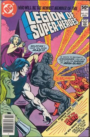 Legion of Super-Heroes (1980) 272-A