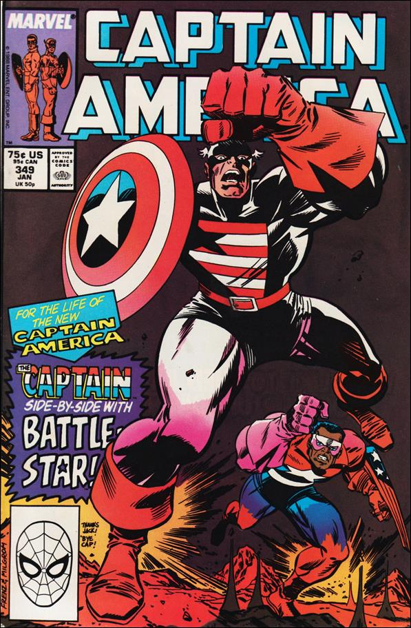 Captain America (1968) 349-A by Marvel