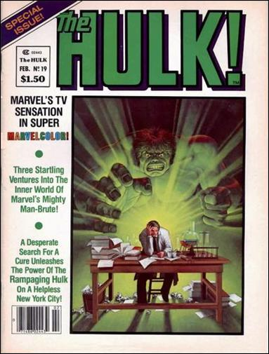 Hulk Magazine 19-A by Marvel