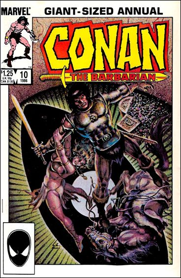 Conan Annual 10-A by Marvel