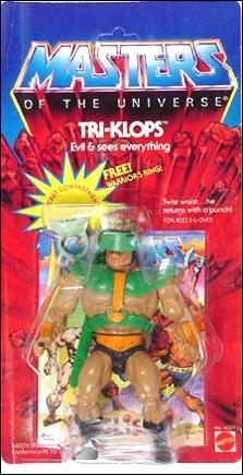 Masters of the Universe (Original Series) Basic Action Figures Tri-Klops by Mattel