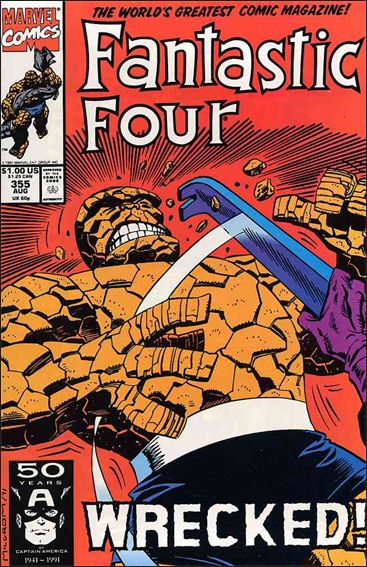 Fantastic Four (1961) 355-A by Marvel