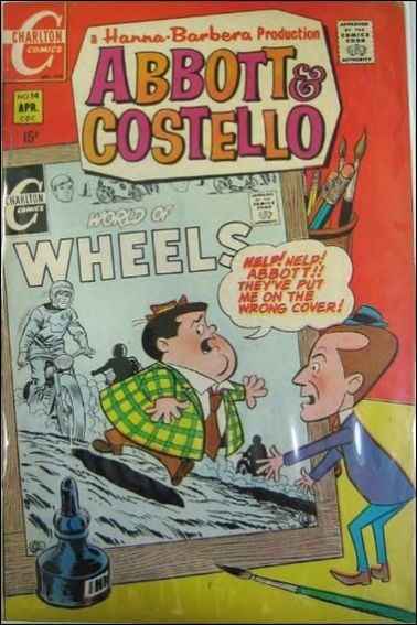 Abbott and Costello (1968) 14-A by Charlton