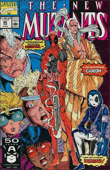 New Mutants (1983) 98-A by Marvel