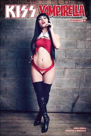 KISS / Vampirella 4-D