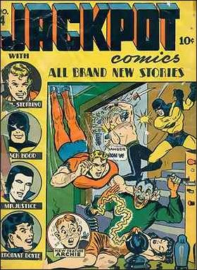 Jackpot Comics 4-A by Archie