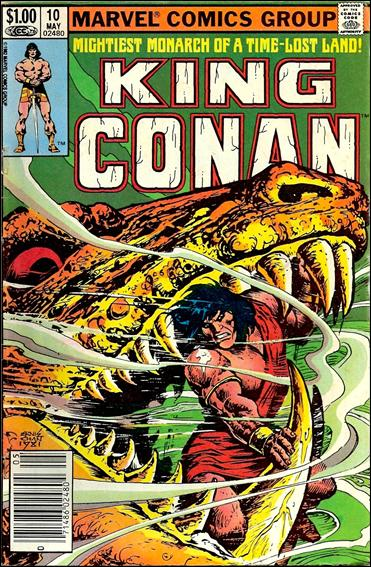 King Conan 10-A by Marvel