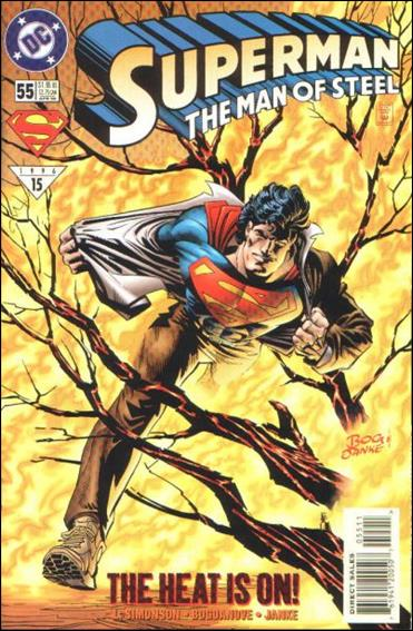Superman: The Man of Steel 55-A by DC