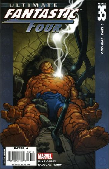 Ultimate Fantastic Four 35-A by Marvel