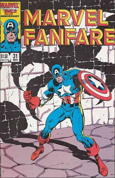 Marvel Fanfare (1982) 31-A by Marvel