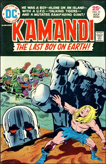Kamandi, the Last Boy on Earth 31-A by DC