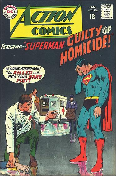 Action Comics (1938) 358-A by DC