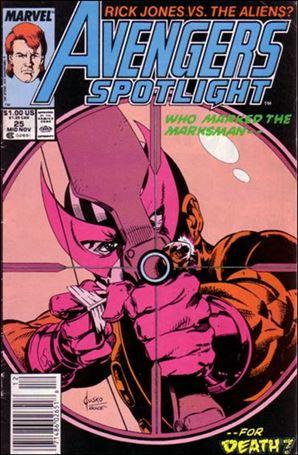 Avengers Spotlight 25-A