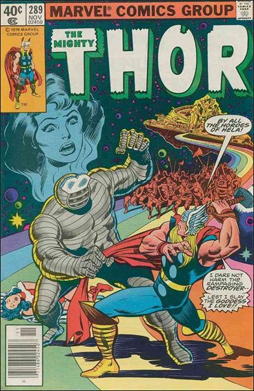 Thor (1966) 289-A by Marvel