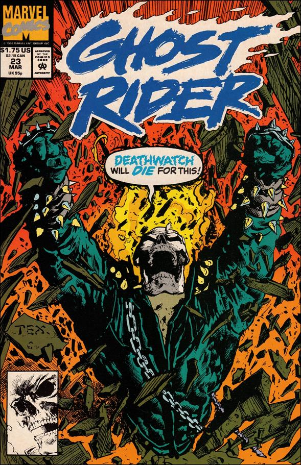 Ghost Rider (1990) 23-A by Marvel