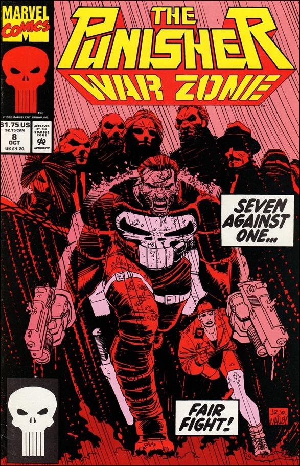 Punisher: War Zone (1992) 8-A by Marvel