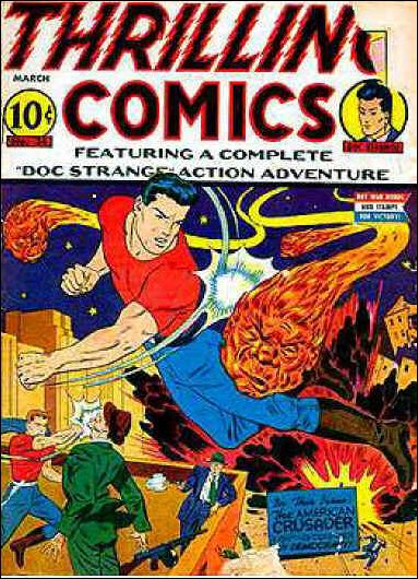 Thrilling Comics (1940) 34-A by Standard