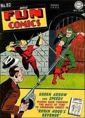 More Fun Comics 82-A by DC