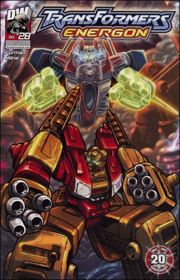 Transformers: Energon (2004) 28-A by Dreamwave