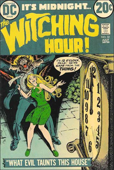 Witching Hour (1969) 32-A by DC