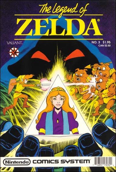 The Legend of Zelda (1990) 3-A by Valiant