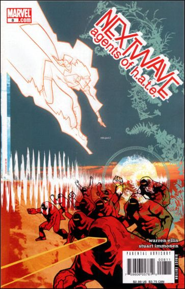 Nextwave: Agents of H.A.T.E. 8-A by Marvel