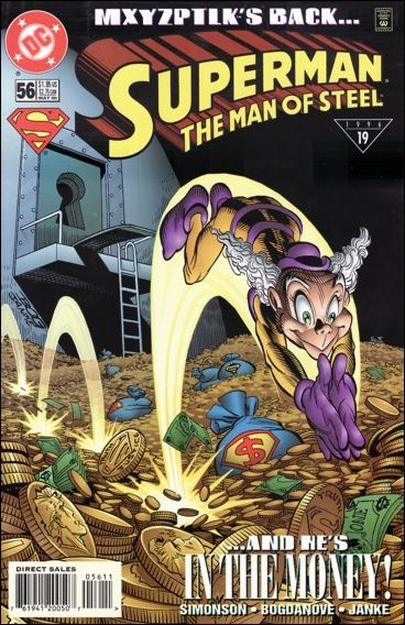 Superman: The Man of Steel 56-A by DC