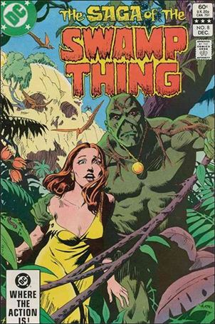 Saga of the Swamp Thing 8-A